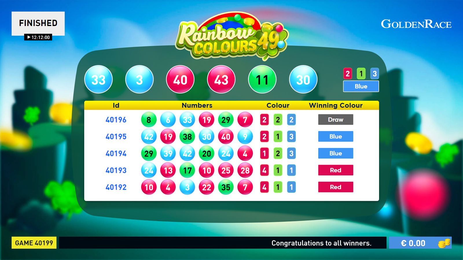 brand-new lottery game